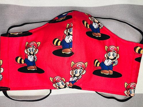 Face Mask Cotton Mario Bros