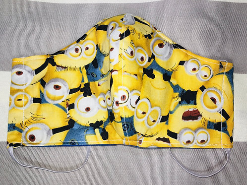 Face Mask Cotton Minions
