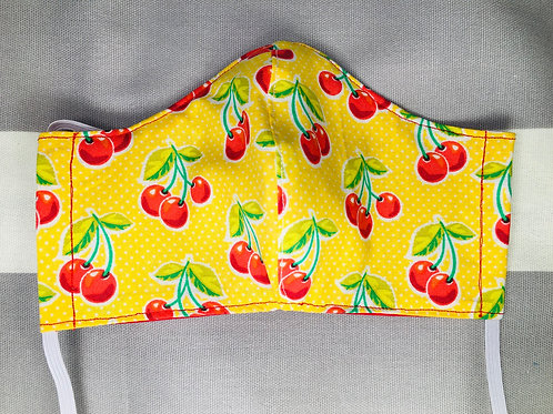 Face Mask Cotton Cherry