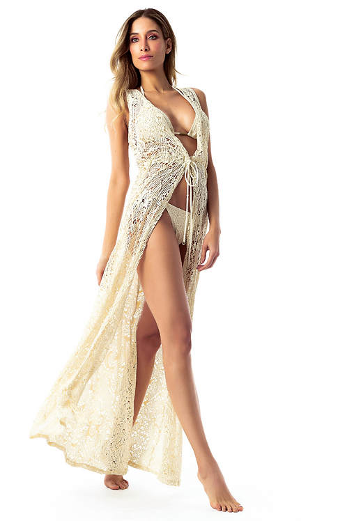 Grace Nude Beach Cover Up Duster
