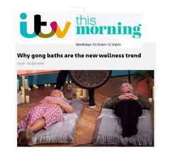 ITV 16th September Gong Bath