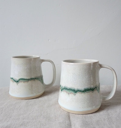 SET of Seismic Wave Mugs