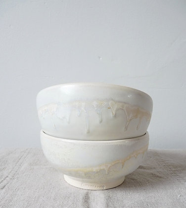 Sunset Horizon Small Bowls (SET): Porcelain