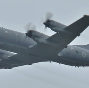 Canadian Forces CP-140 Aurora fly Past