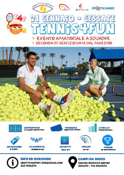Tennis 4 Fun Gessate
