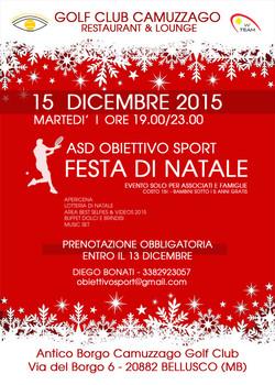 Festa di Natale Obiettivo Sport