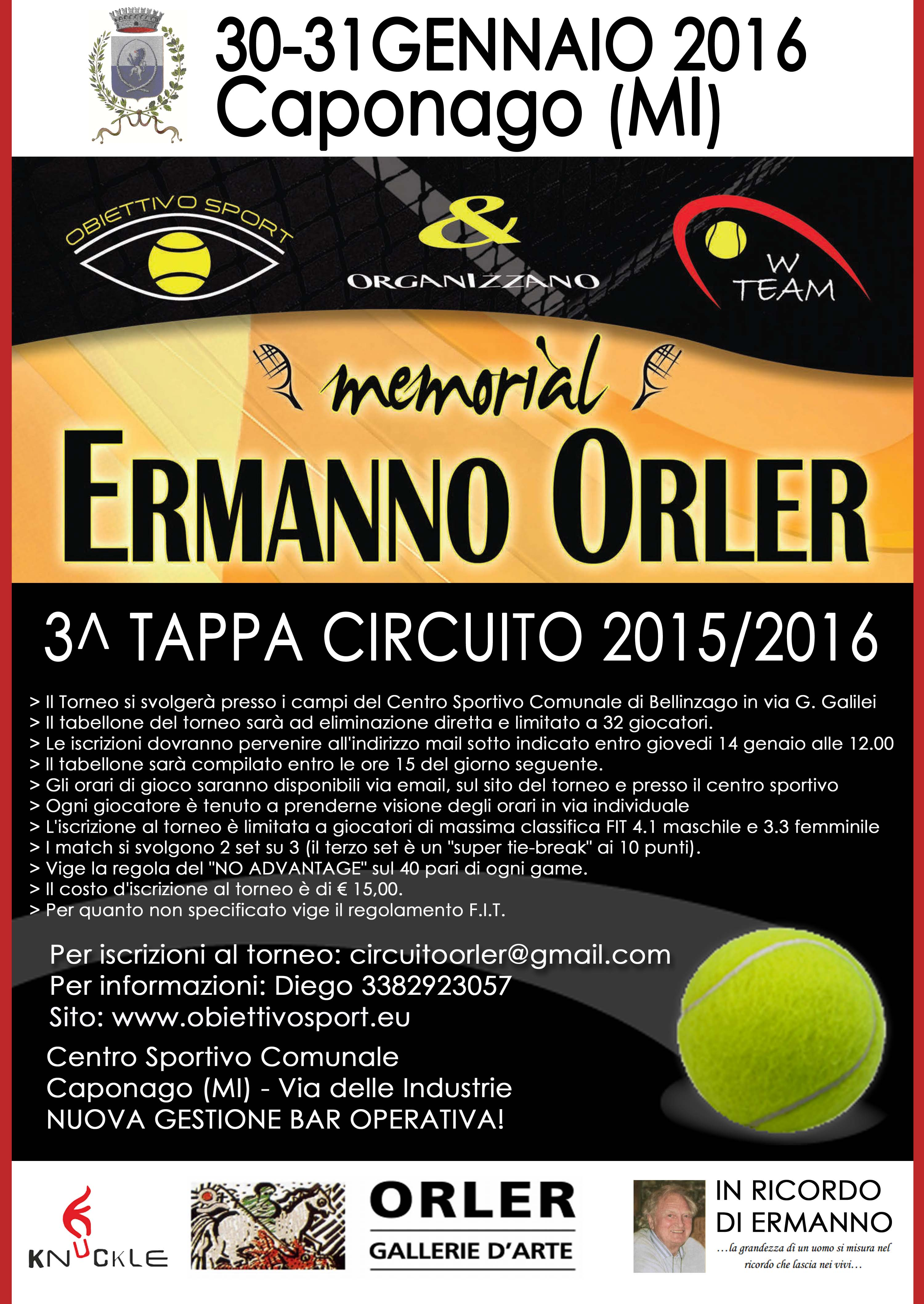 III Tappa Orler