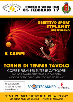 Tennis Tavolo Pozzo TTPlanet