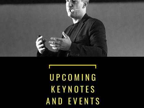 MARCH 2020: Keynotes & Events