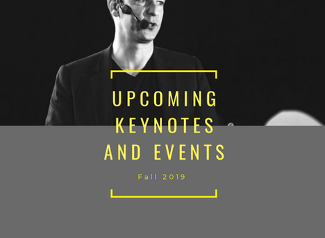 Fall 2019: Keynotes & Events