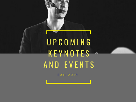 Fall 2019: Keynotes & Events