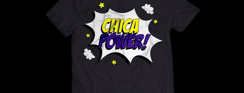 Latinitas Black Chica Power T-Shirt