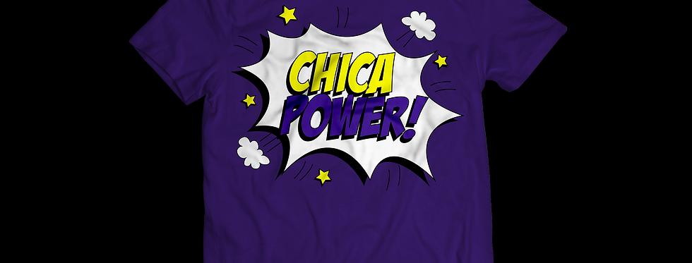 Latinitas Purple Chica Power T-Shirt