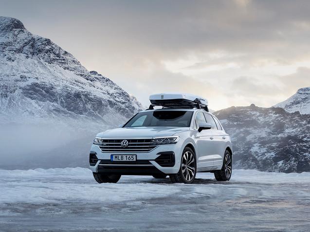 Volkswagen Touareg Skiteam