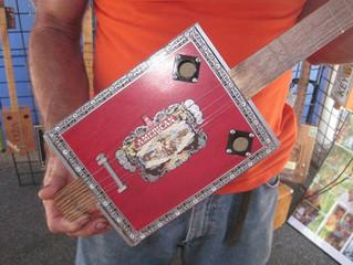 Cigar Box Guitar Workshop July 16