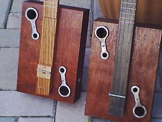 New CMR Cigar Box Guitar web site.
