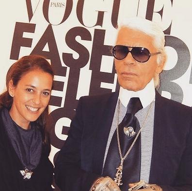 Oh Karl Lagerfeld...