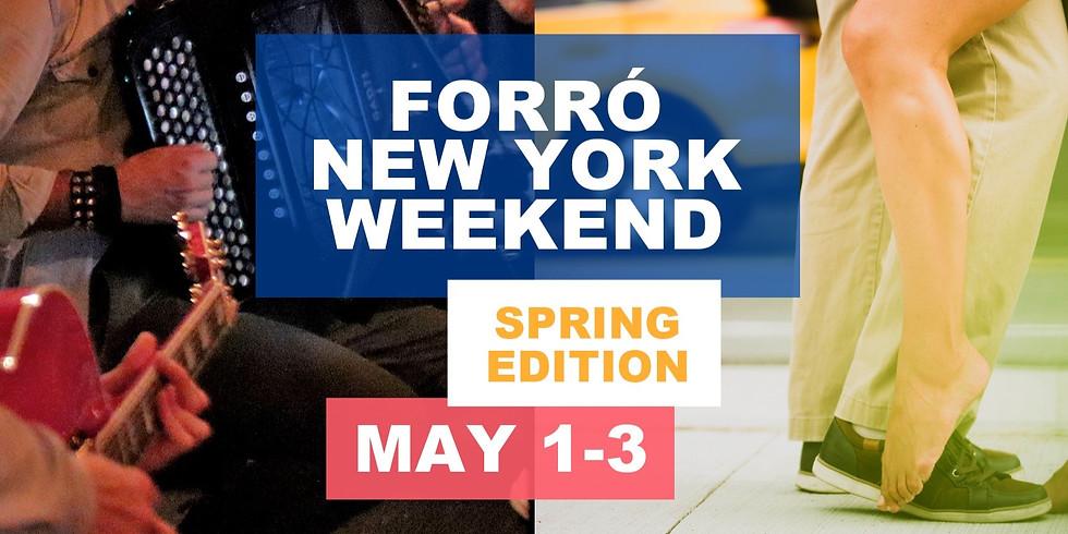 Forró New York WEEKEND (Spring 2020)