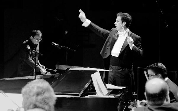 Rafael Piccolotto de Lima conducting Symphony of the Americas