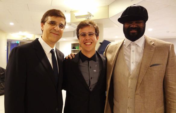 Vince Mendoza, Rafael Piccolotto de Lima & Gregory Porter
