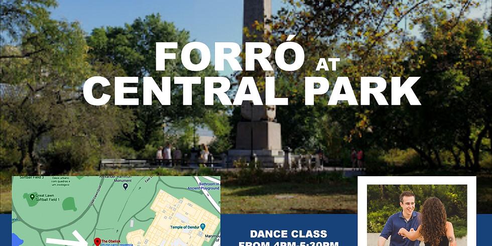 Forró Dance Class at Central Park
