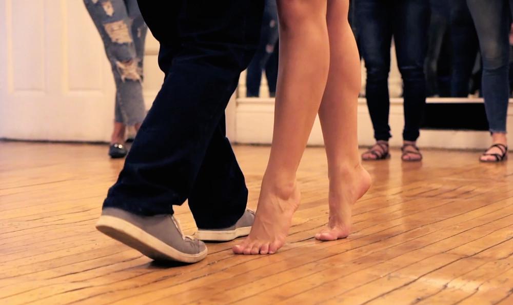 Forró footwork - Rafael and Carol