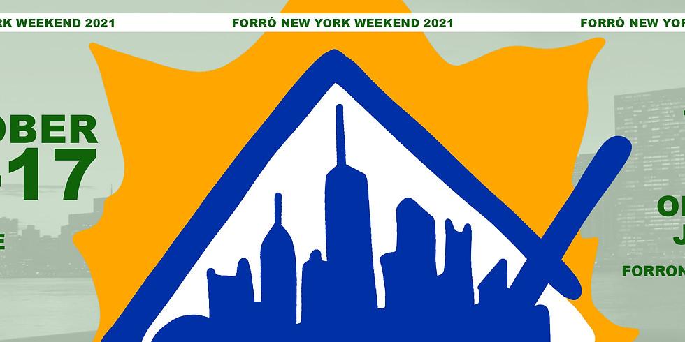 FORRÓ NEW YORK WEEKEND 2021 - Autumn Edition
