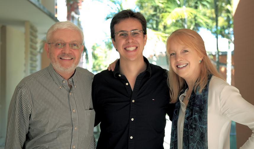 Rafael Piccolotto de Lima, Gary Lindasay & Maria Schneider