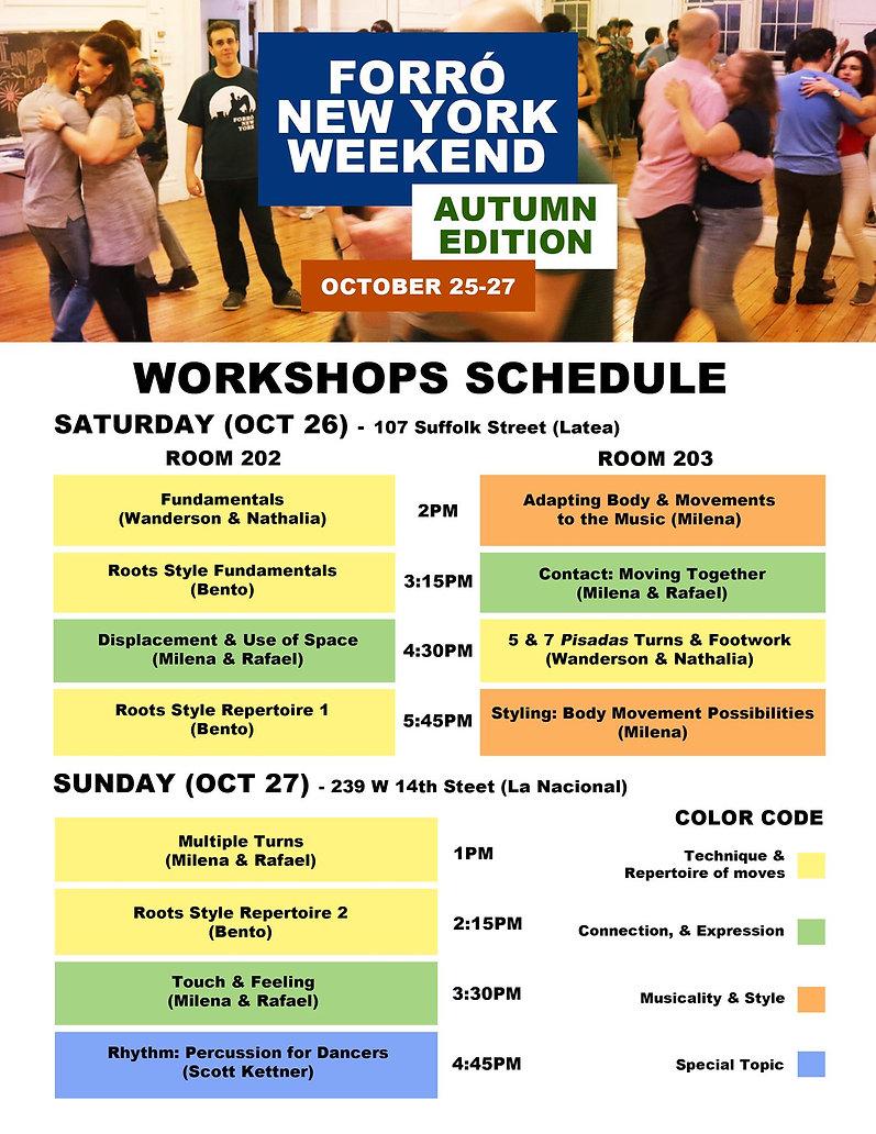 forro weekend 2019 workshops calendar.jp