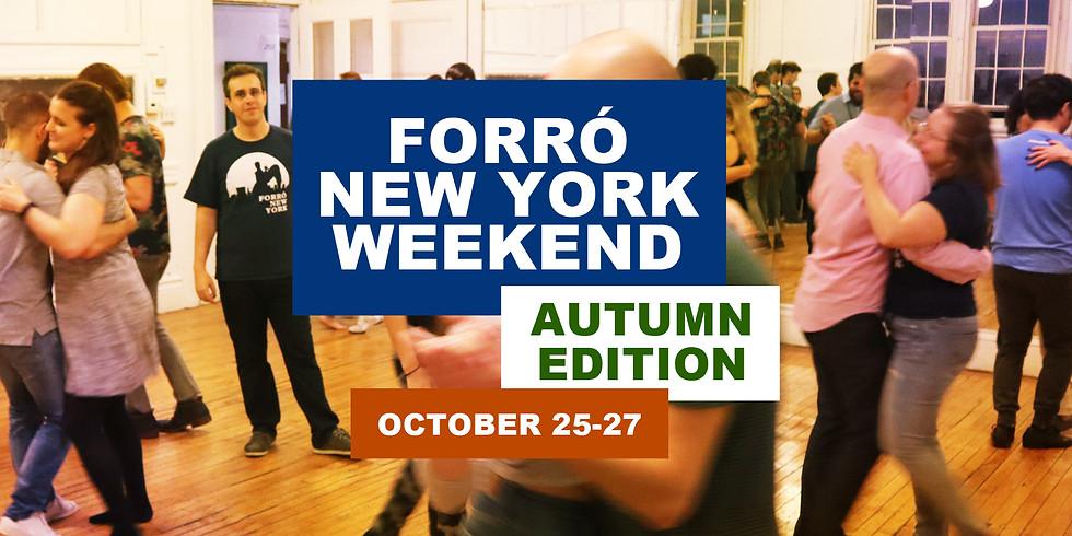 Forró New York WEEKEND (Autumn 2019)