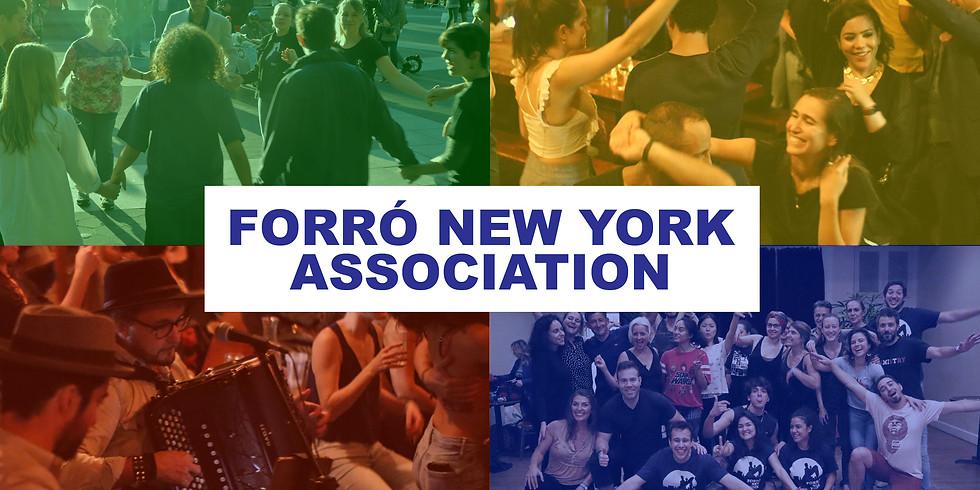 Forró New York Association Membership