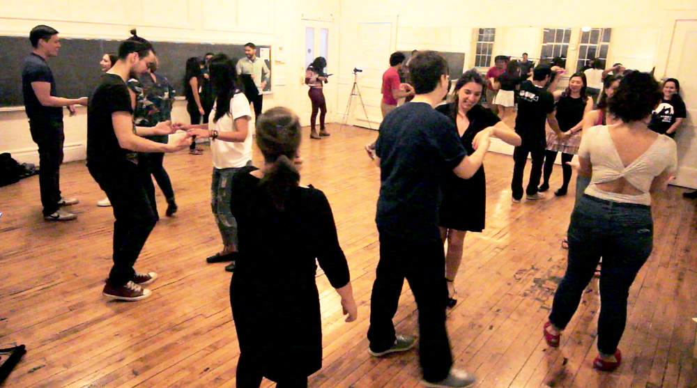 Forró class in NY with Rafael
