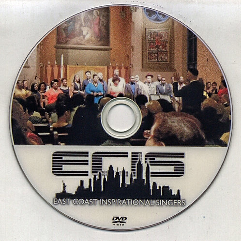 East Coast Inspirational Singers Music DVD