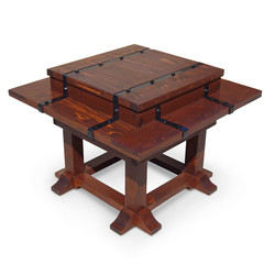 Fire Pit Table with cover
