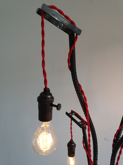 Salvaged Floor Lamp