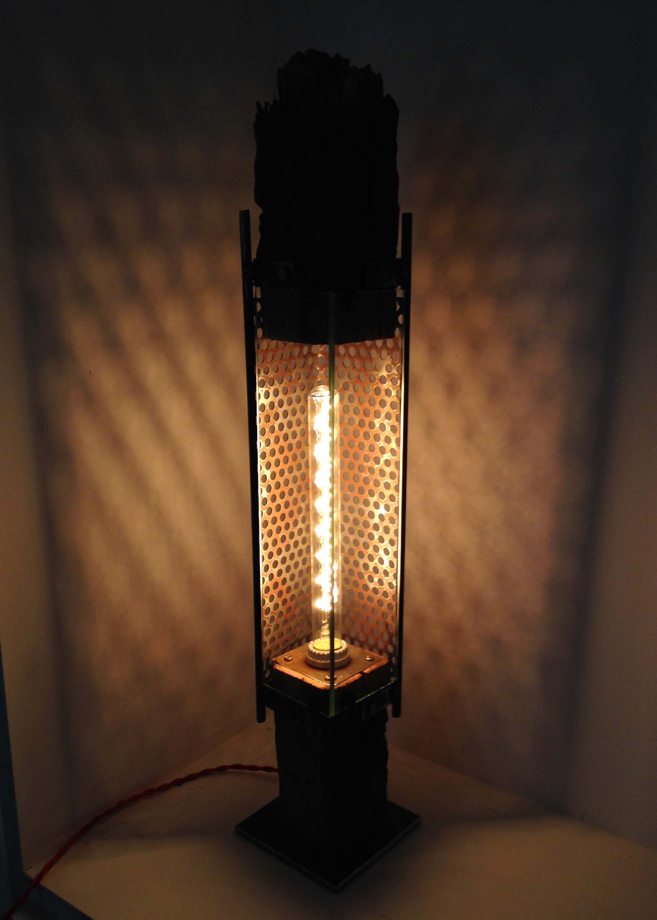 Reclaimed Industrial Lamp