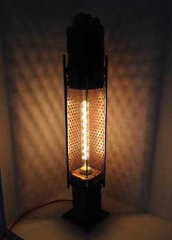 Reclaimed Industrial Lamp