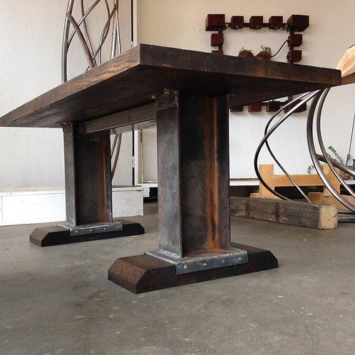 Salvaged Industrial Coffee Table