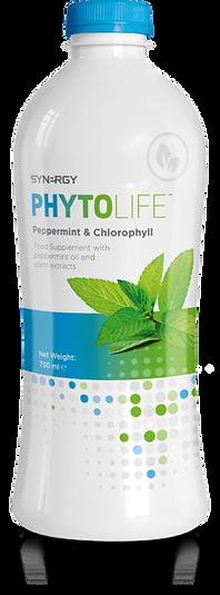 Poskrbite za svojo vitalnost s tekočim klorofilom z okusom poprove mete - Synergy PhytoLife