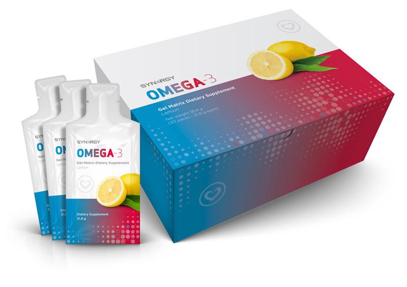 Synergy Omega-3 v gelu