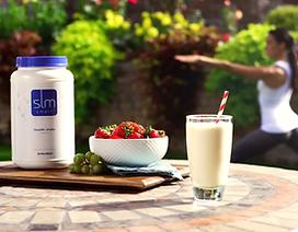 Za uravnavanje telesne teže poskrbi SLMsmart nadomestek obroka