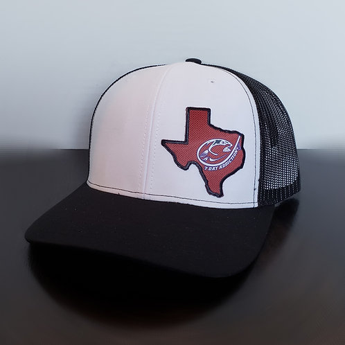 Texas Red Carbon Fiber Patch