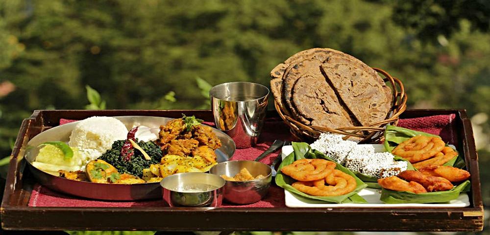 Famous Dehradun local Cuisine | Tree Cafe Resstaurant