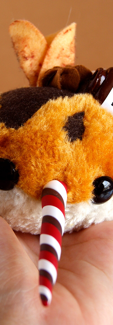 Peluche Candy Narwal Nutella creppe