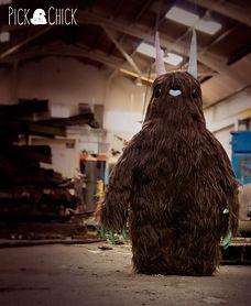 peluche, gigante, hecho a mano, artesanal, monstruo, peludo, basura, handmade, kawaii