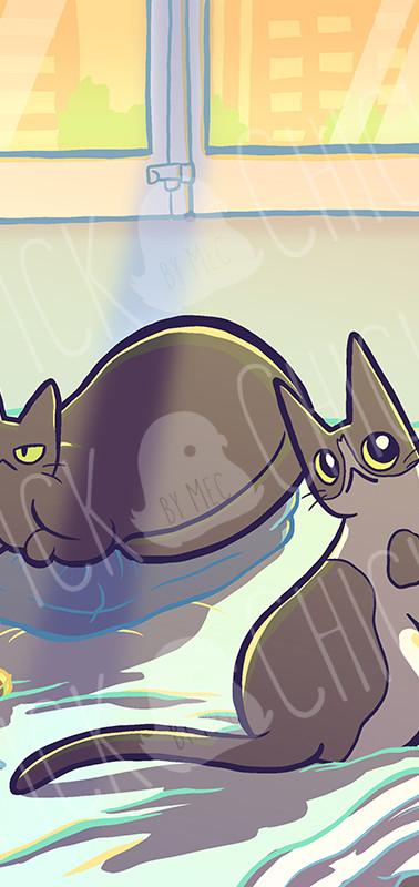 Retrato Gatos Marta