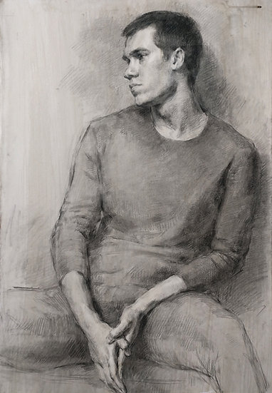 Seated Male Portrait
