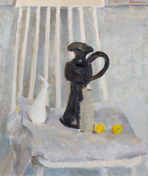 Still Life with a yellow apricot