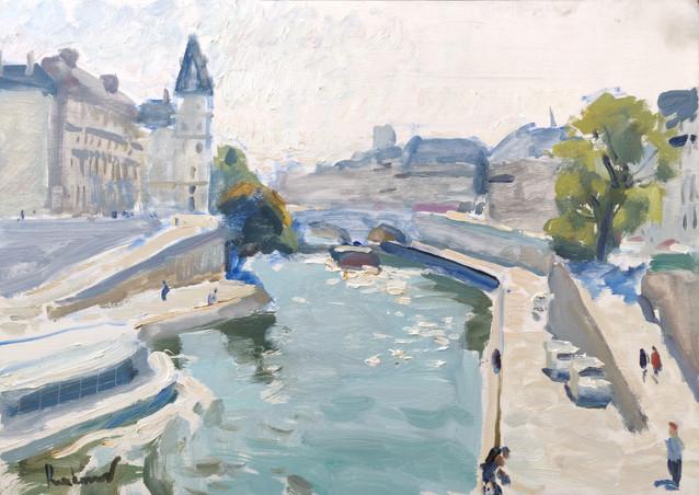 On the Pont Neuf