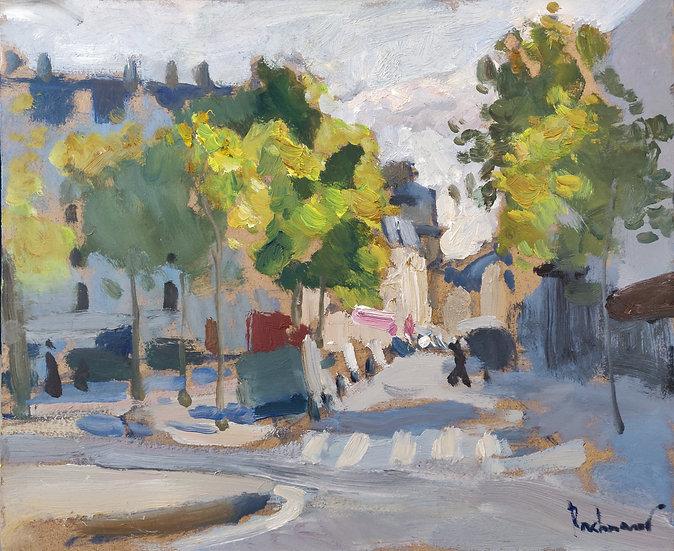 Street in Auteuil, Paris